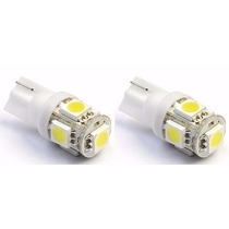 Lâmpada 5 Leds T10 Pejo Pajero Civic City Fit Pingo Lanterna