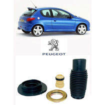 Kit Amortecedor Dianteiro Completo Peugeot 206 1.0 1998/ Le