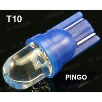 Par Lâmpada Pingo Azul T10 12v P/ Farolete / Meia Luz E Outr