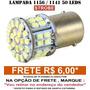 Lampada 1156 1 Polo 50 Leds Hiper Branca Xenon Ré - Strobe