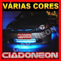 Promoção! Super Barra 87cm Neon Led Externo Pedaleira Tapete