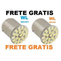 Par Lampada Ré-freio-seta Luz 22 Leds 1 Pino-frate Gratis