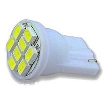 Lampada Pingo 8 Leds T10 Xenon Super Branca Frete Fixo!!!
