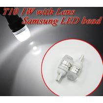 Lâmpada Automotiva Led T10 1w Qualidade Samsung *par*