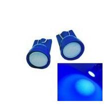 10 Lampadas Cob Azul Soquete T10 -pingo Farolete Meia Luz