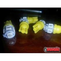 Par Lâmpadas Pingo Com 5 Leds Amarelos