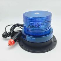Giroflex 26 Leds Sinalizador C/ Imã Azul - 12v