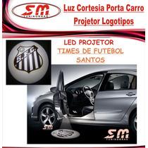 Luz De Cortesia Projetor Logomarca Time De Santos