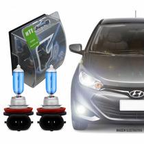 Lâmpada H11 5000k Efeito Xenon New Civic 12/15 Farol Baixo