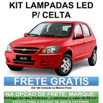 Kit Completo Lampadas Led P/ Celta - Super Promoçao Anx Leds