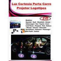 Projetor Porta De Carro Luz De Cortesia Iluminação Fiat