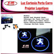 Luz De Cortesia Projetor Logomarca Peugeot