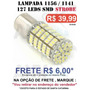 Lampada 1156 1 Polo 127 Leds Branca Xenon - Strobe Light