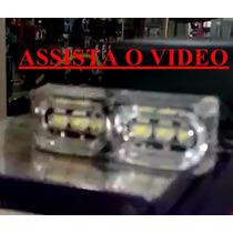Strobo Safety Car Ultra Brilho 6 Efeito Em Branco