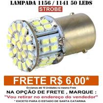 Lampada 1156 1 Polo 45 Leds Hiper Branca Ré - Strobe