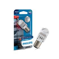 Lâmpada Philips Led Luz Freio 2 Polos P21/5 12v Unitário