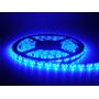 0,5 Metro Fita Led 3528 12v 50cm Dupla Face 3m Azul Neon