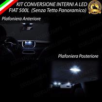 Acessorio Led Fiat 500l Kit Teto Dianteiro + Traseiro