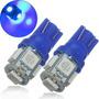 Lâmpada Pingo T10 W5w Com 5 Led Ice Blue (azul Frio) 12v