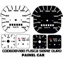 Kit Translúcido P/ Painel - Cod608v180 - Fusca Serie Ouro