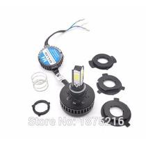 Lampada Led Farol H4 3500 Lm Alto/baixo Carro Moto 4x +forte