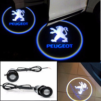 Projetor Porta De Carro Luz Cortesia Iluminação Peugeot