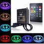 Kit Sensor Som Rítmico 12v Led 5050 Rgb + Controle 110v~220v