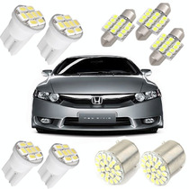 Kit Led New Civic 2006 2007 2008 2009 2010 2011 Luz Branca