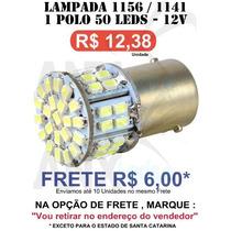 Lampada 1156 1 Polo 45 Leds Hiper Branca Ré E Pisca - 1156