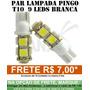 Par Pingo 9 Leds Smd 5050 T10 Hiper 20x Mais Forte 360º