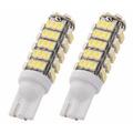 Par Super Lâmpada T10 Pingo 68 Leds Xenon Ultra Brilho! W5w