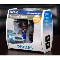 Lampada Diamond Vision Phillips Hb4 5000k Efeito Xenon Hid