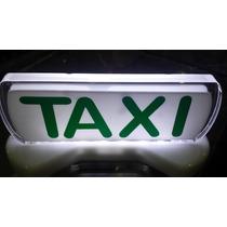 Luminoso Táxi Pequeno Iluminação Led Especial Imantado