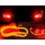 Barra Led Flexível Lanterna E Seta Luz Drl 12v Carro Ou Moto