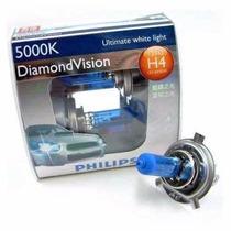Lâmpada Super Branca Philips Diamond Vision H4 5000k