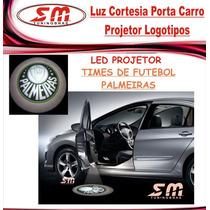 Projetor Porta De Carro Luz De Cortesia Time De Palmeiras