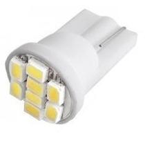 1 Lampada Pingo 8 Led T10 W5w - Efeito Xenon