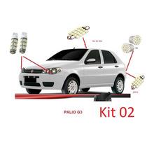 Kit Lâmpadas Automotivas Led Para Palio G3 - Frete R$9,99