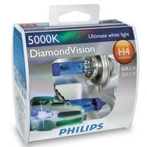 Lâmpadas Xenon Diamond Vision Philips H4
