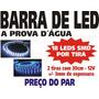 Barra Fita Tira Strip Led Smd - 30cm Branco - O Par