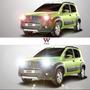 Lampada Super Branca Luz Tipo Xenon H4 H7 H3 H1 100w/90w
