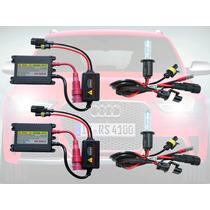 Kit Xenon Hid Reator Slim H1 H3 H4 H7 H11 H27 Hb3 Hb4 6k 8k