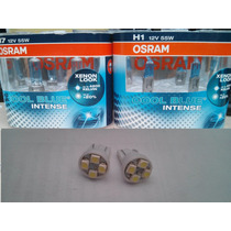Lampada Osram Cool Blue Intense Kit H7 H1 + Pingão Led