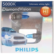 Kit Lampadas Philips Diamond Vision H1 5000k - Efeito Xenon