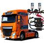 Kit Xenon 24v H4-2, H1, H3, H7 Para Caminhão E Onibus 8000k
