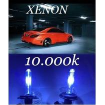Lâmpada Xênon Par 10000k H1 H3 H4.2 H7 H11 H27 Hb4