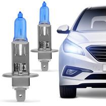 Par Lampadas Super Brancas H1 8500k Efeito Xenon Automotiva