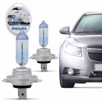 Lampada H7 Philips Crystal Vision Farol Baixo Gol G5 Foco 2