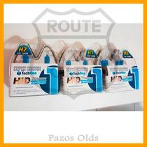 Kit Lâmpadas Super Brancas 2 H7 100w + 2 H1 100w + 2 H3 100w