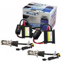 Kit Xenon Auto Parts Tech One Ou Ray-x 12v 4300k Reator Slim